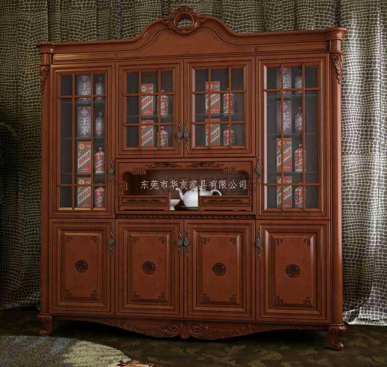 中式古典酒柜图片