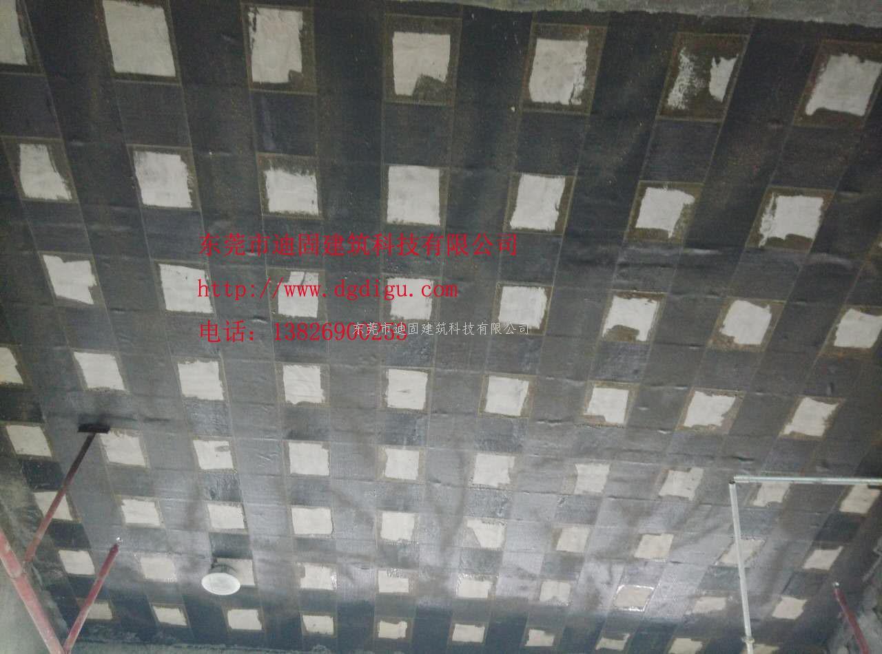 东莞松山湖中科创新广场冷却塔碳纤维结构加固