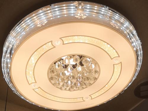 水晶客廳吸頂燈