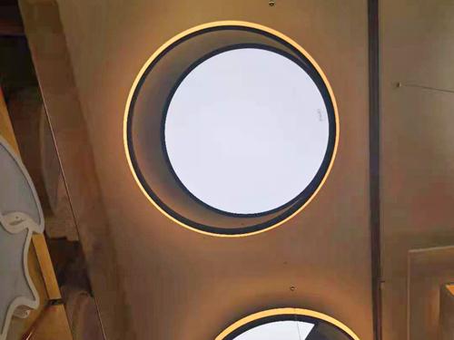 圓形臥室餐廳燈