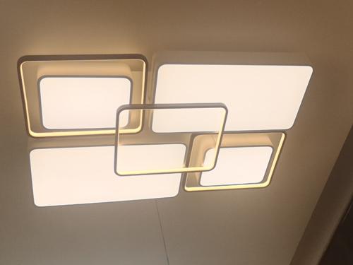 水晶臥室吸頂燈