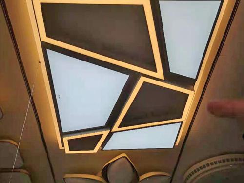 幾何創意個性燈客廳吸頂燈