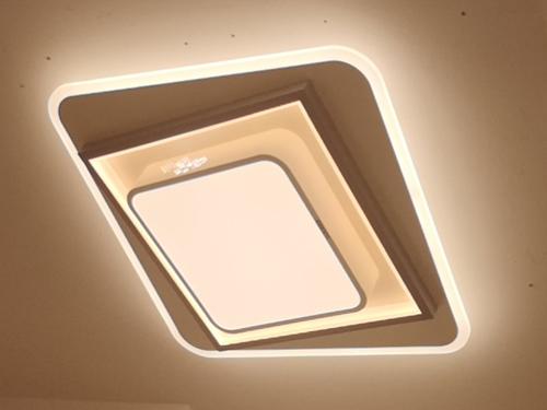 正方形吸頂燈三色