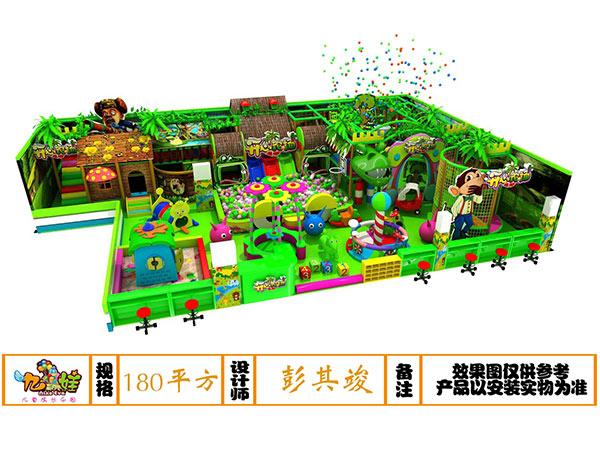 儿童乐园森林绿系列