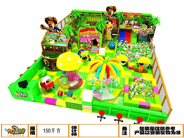 儿童乐园森林绿系列装修设计