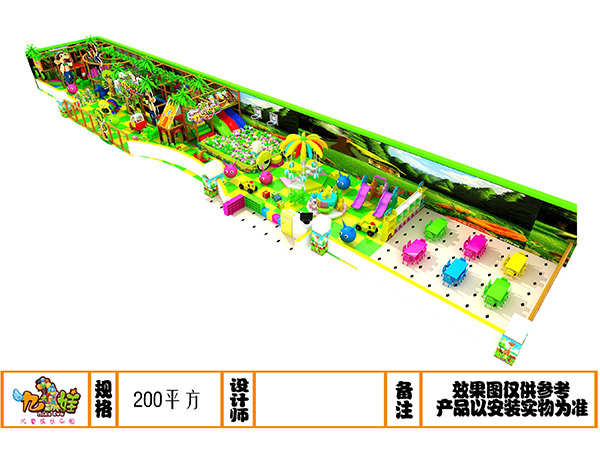 儿童乐园森林绿系列装饰设计