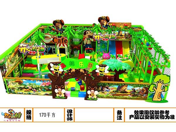 儿童乐园森林绿系列开发