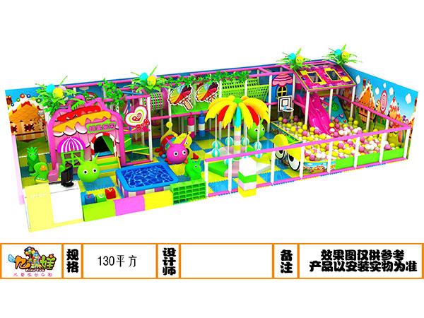 儿童乐园糖果粉系列装饰设计