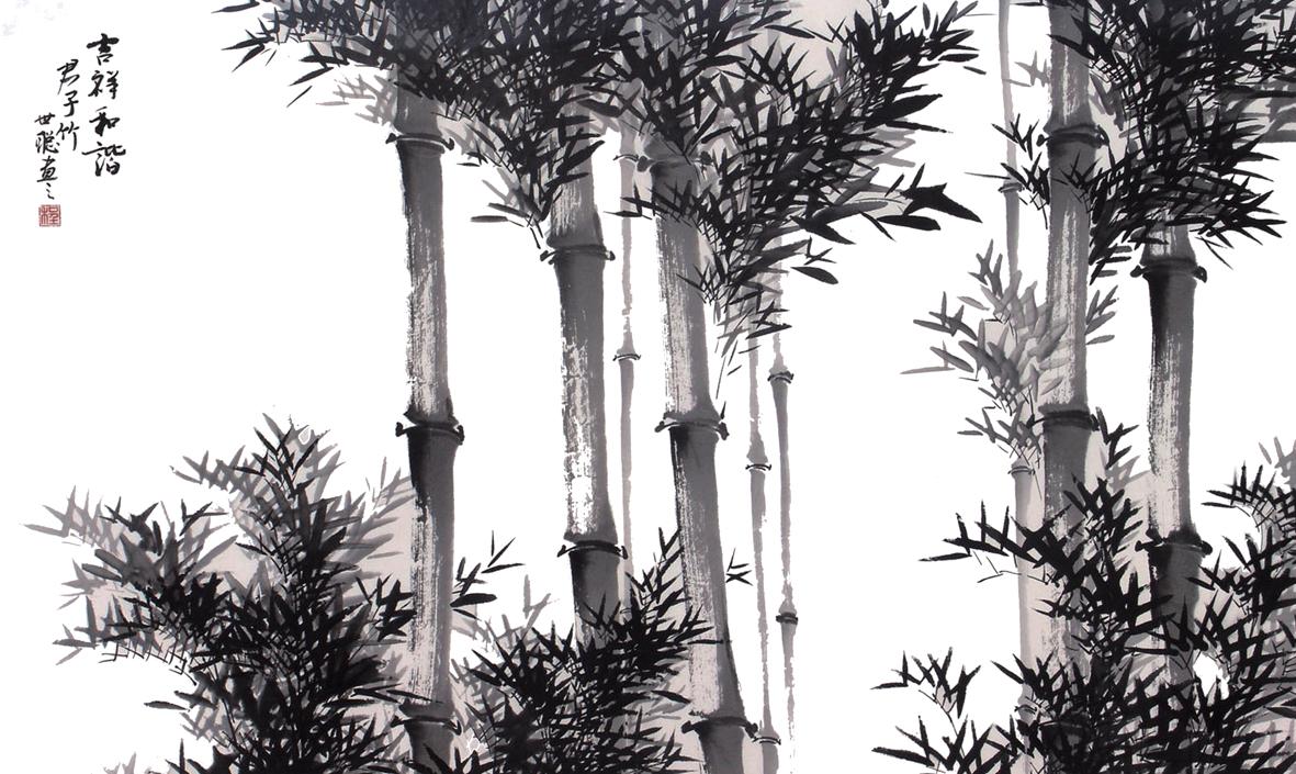 壁纸 国画 树 1181_705
