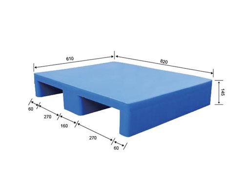 镇江塑胶卡板在哪买 伟创 网格九脚型 防潮 单面型 PP 耐破高
