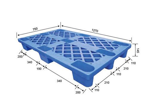 成都可回收塑膠卡板標簽價格 偉創 網格 網格九腳型 防潮 防蟲