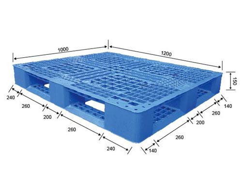 晉江可再生塑膠卡板多少錢一個 偉創 可回收 PP 加厚 可再生