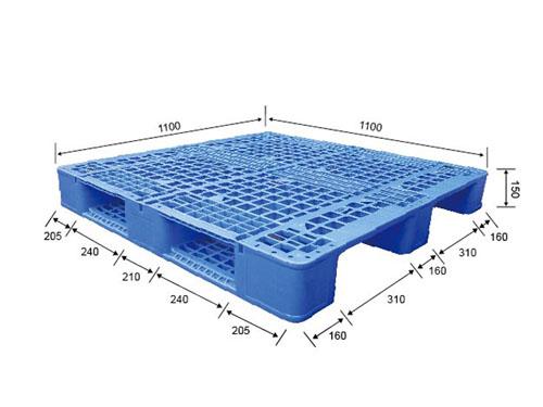 溫州塑膠卡板用途 偉創 耐腐蝕 單面型 單面 網格 環保 包裝