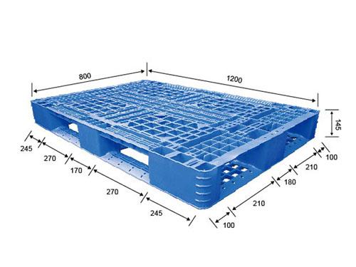 厦门循环利用塑胶卡板多少钱一个 伟创 田字型 双面 防虫 耐腐蚀