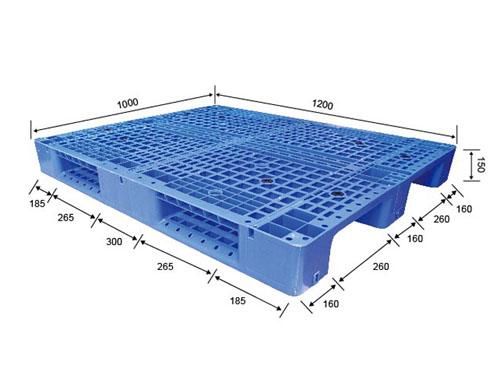 江阴可回收塑胶卡板生产商 伟创 川字 PP 包装 平面型 耐破高