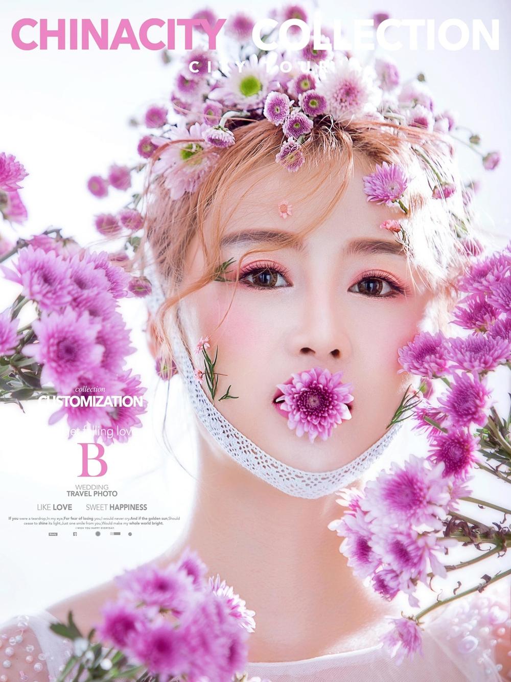 东莞艺术照,杂志封面