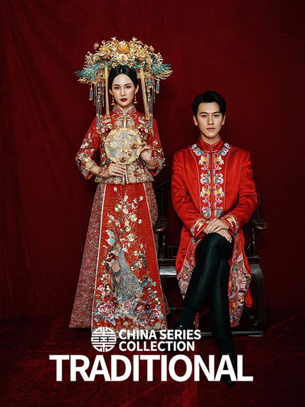 东方丰韵中式婚纱照