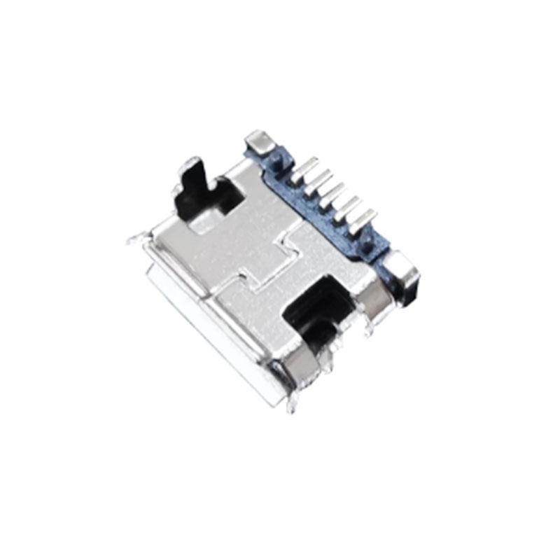 侧插MICRO-连接器订制_乾熠实业_大电流插头_公头_板间