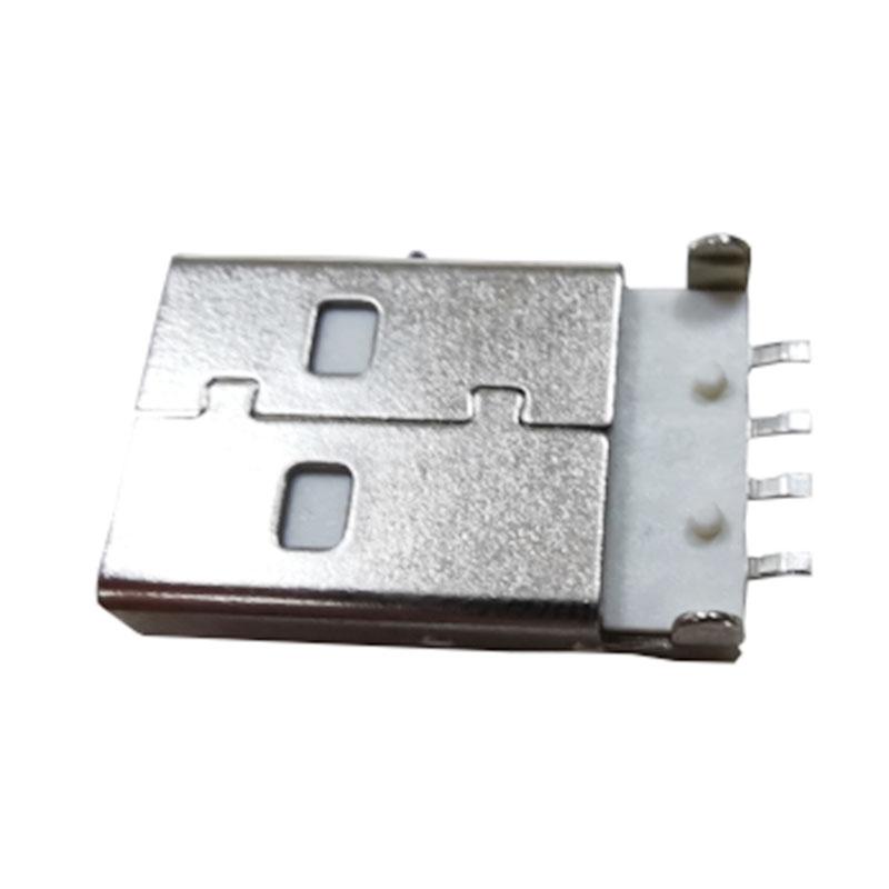 航空插頭USB連接器供應_乾熠實業_B型_萍果公頭_網線接口