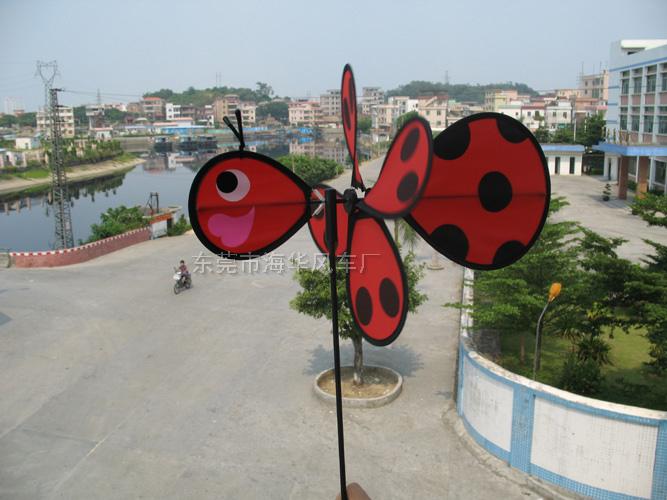 小甲蟲造型布風車 069