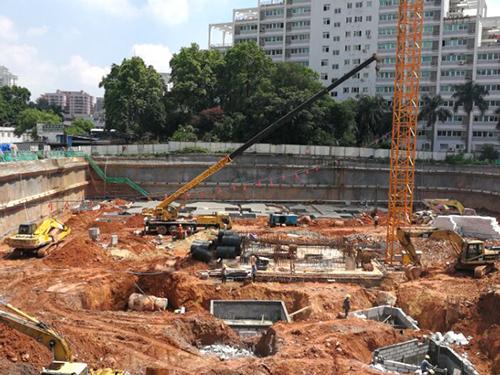 广东宏达机房项目刚开工图