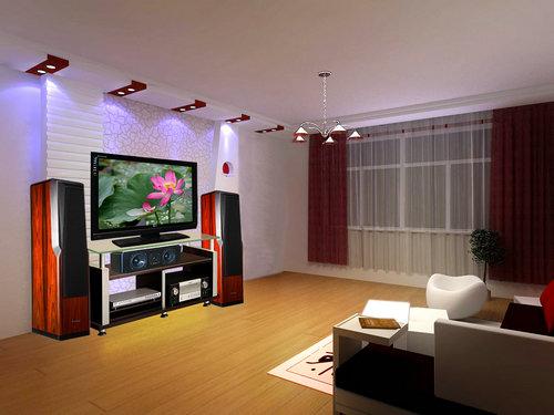 客厅电视背景墙bz