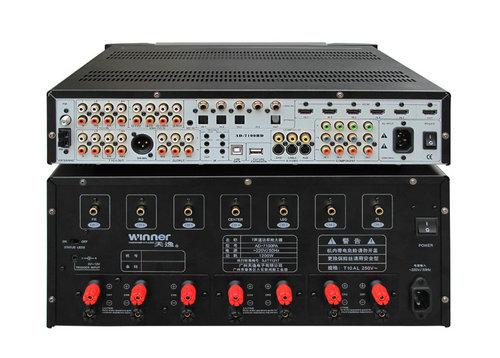 纯后级功率放大器: 该后级采用了全平衡,超低失真,高速hi-fi功放电路