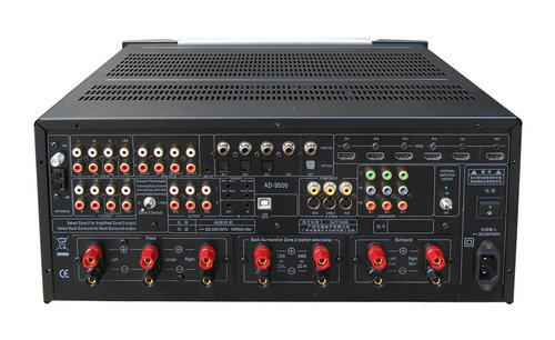 1声道高清合并式功率放大器,该功放的前级解码器全面的继承了天逸分体