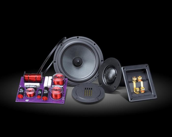 HiVi 惠威 DIY3.1 HiFi書架式音箱 DIY 喇叭套件(不含箱體)
