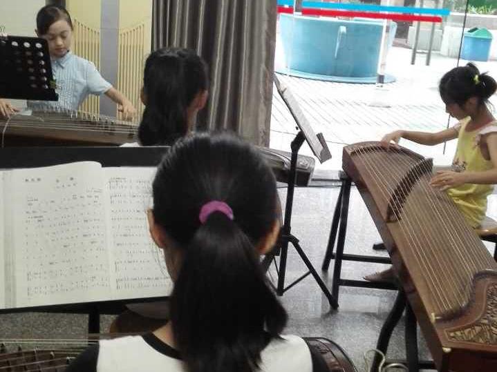 艺术中心学生练习