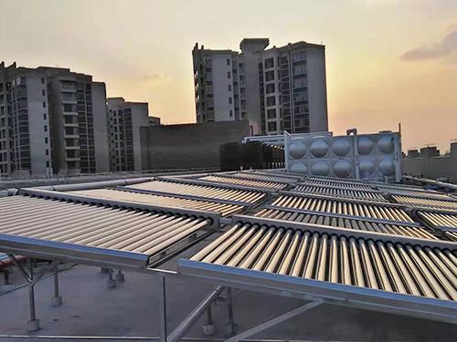 樓頂房屋太陽能供水系統