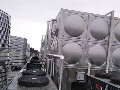 中央供熱水系統
