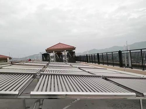 樓頂太陽能供水熱水系統