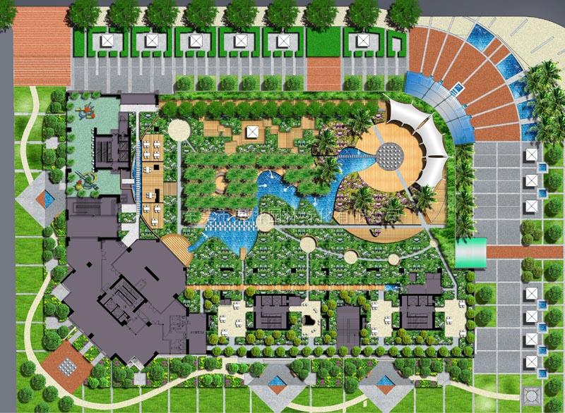 园林规划设计平面图-东莞市泉桦园林绿化有限公司|企