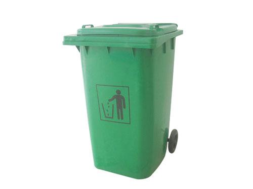 240L带轮垃圾桶