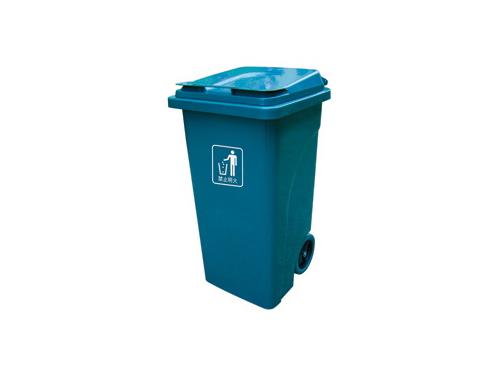 120L带轮垃圾桶
