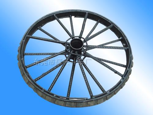 12厘加厚加固斗車輪