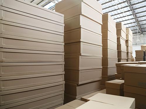 浙江包装纸箱供应_中宝纸制品_大型_鞋厂_塑料_防潮_显示器