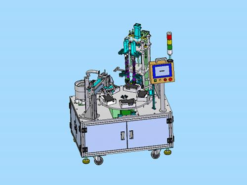 4軸轉盤式自動鎖螺絲機