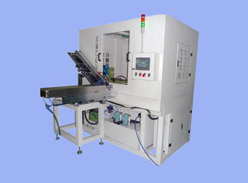 JC-DPZKJB301:(精馳端排鉆孔機直線式3面加工的第1代)高速銅、鋁端子數控自動鉆孔機