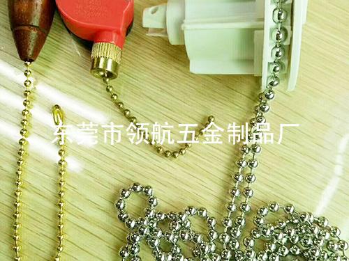 专业生产拉力铜珠链厂家