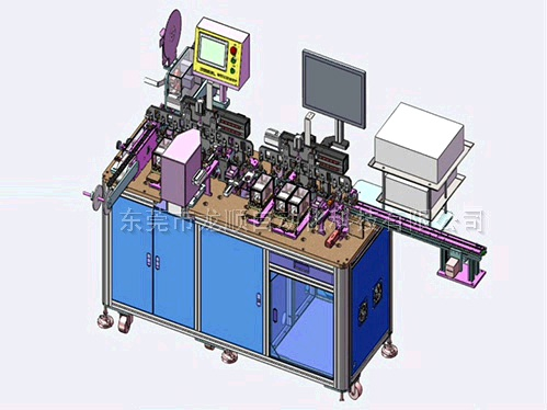 SD卡電測CCD檢測包裝機