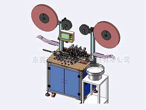 SATA HDD 22PIN自動折彎端子、插針、鉚點、切焊接腳設備