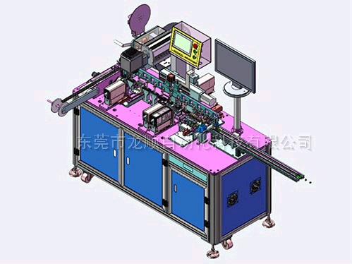 Audio-jack系列檢測包裝機