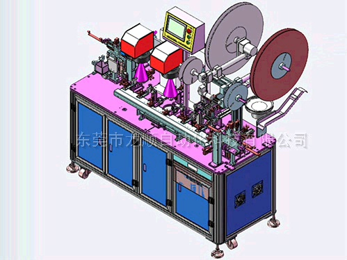 Audio-jack系列焊接機