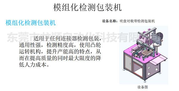 模組化檢測包裝機