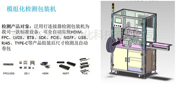 模組化檢測包裝設備