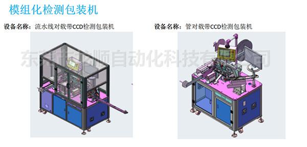 流水線對載帶CCD檢測包裝機