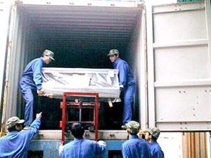 黄江搬家公司搬厂服务,找联运搬家
