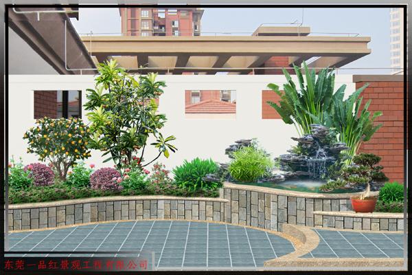 别墅-阳台花园